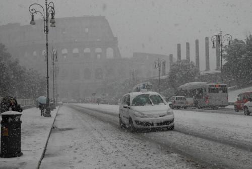 Neve a Roma, martedì 19 Gennaio possibili sorprese