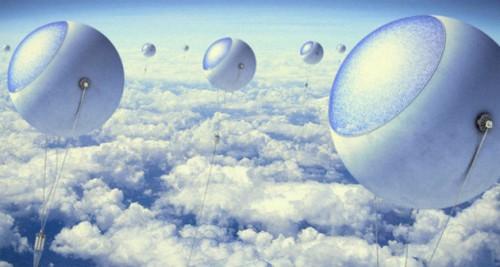 Tecnologia, ideati palloni per catturare energia solare ad alta quota