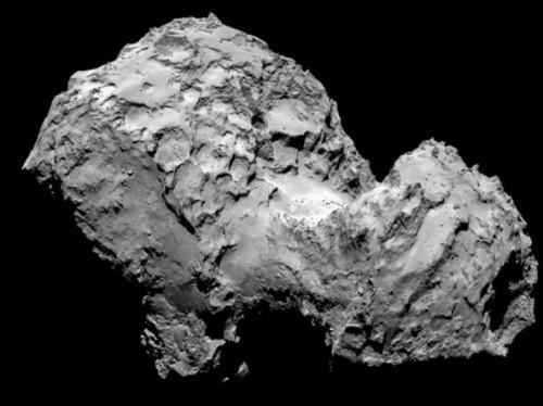Rosetta trova ghiaccio d'acqua sulla cometa 67P
