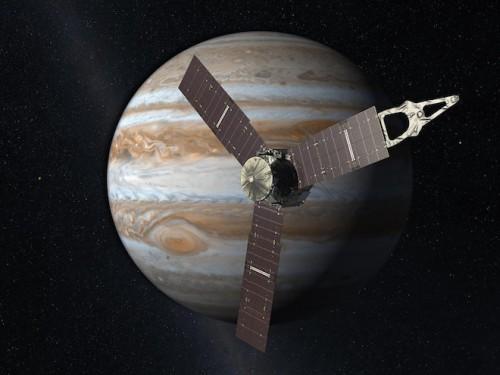 NASA, la sonda Juno esplorerà il pianeta Giove