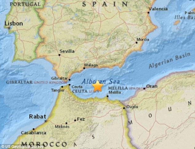 Terremoto tra Spagna e Marocco oggi, intensa scossa di M 6.1 Richter