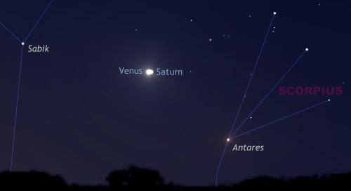 Congiunzione Venere – Saturno: poche ore da un evento straordinario