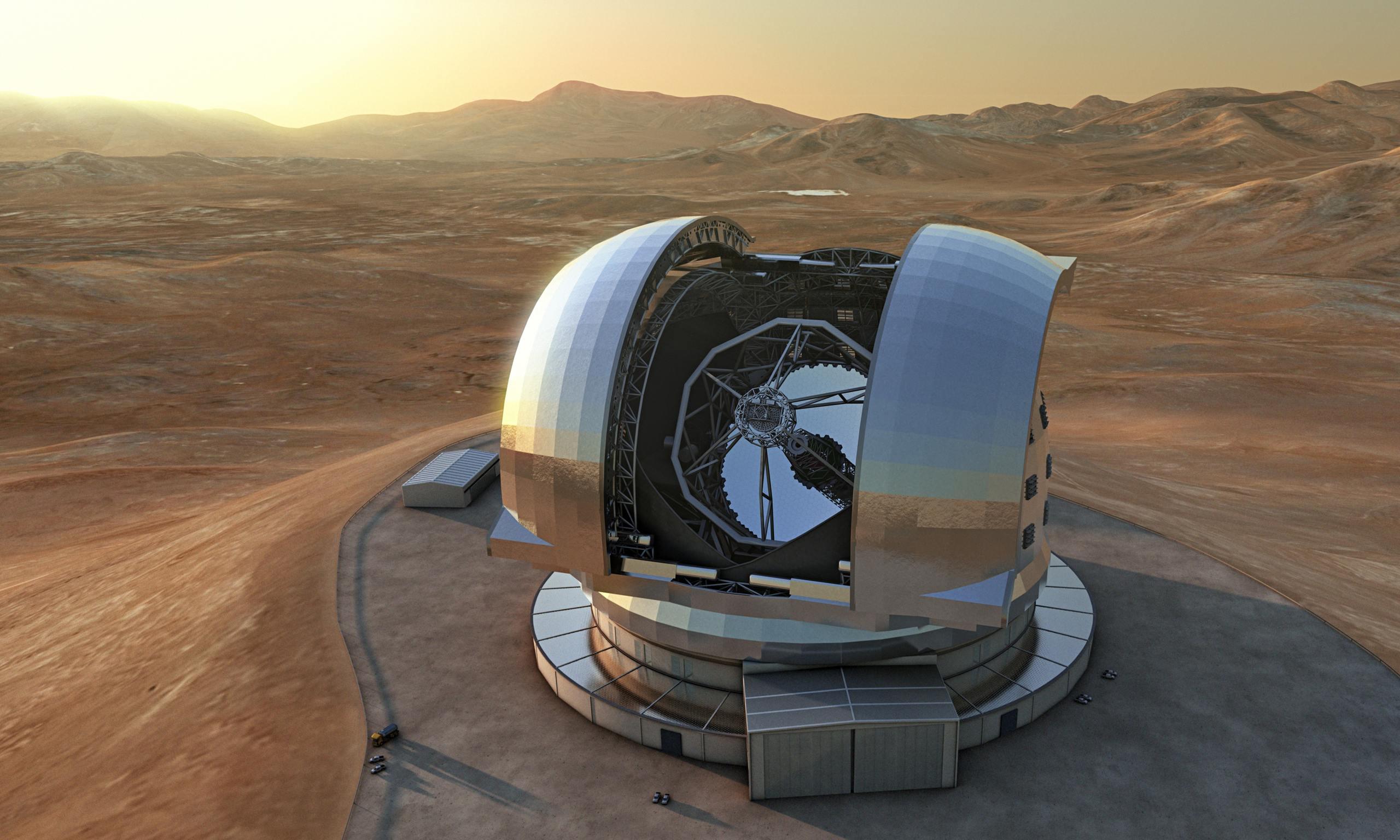 Arriva E-ELT, il telescopio ottico più grande del mondo