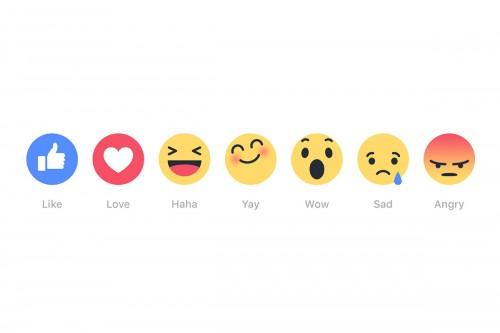 Facebook reactions: da oggi cliccare mi piace sarà diverso