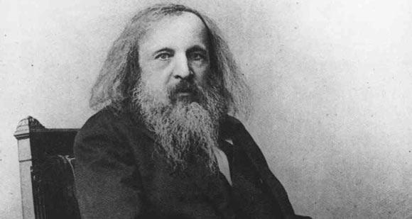 Google celebra Dmitrij Mendeleev con un doodle