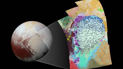 NASA, sviluppata una mappa a colori di Plutone