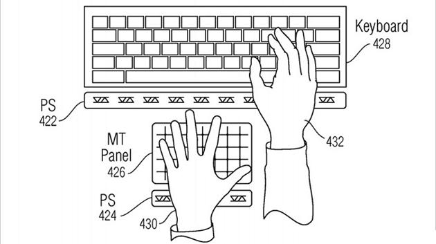 Apple, brevettati i pulsanti virtuali per iPhone