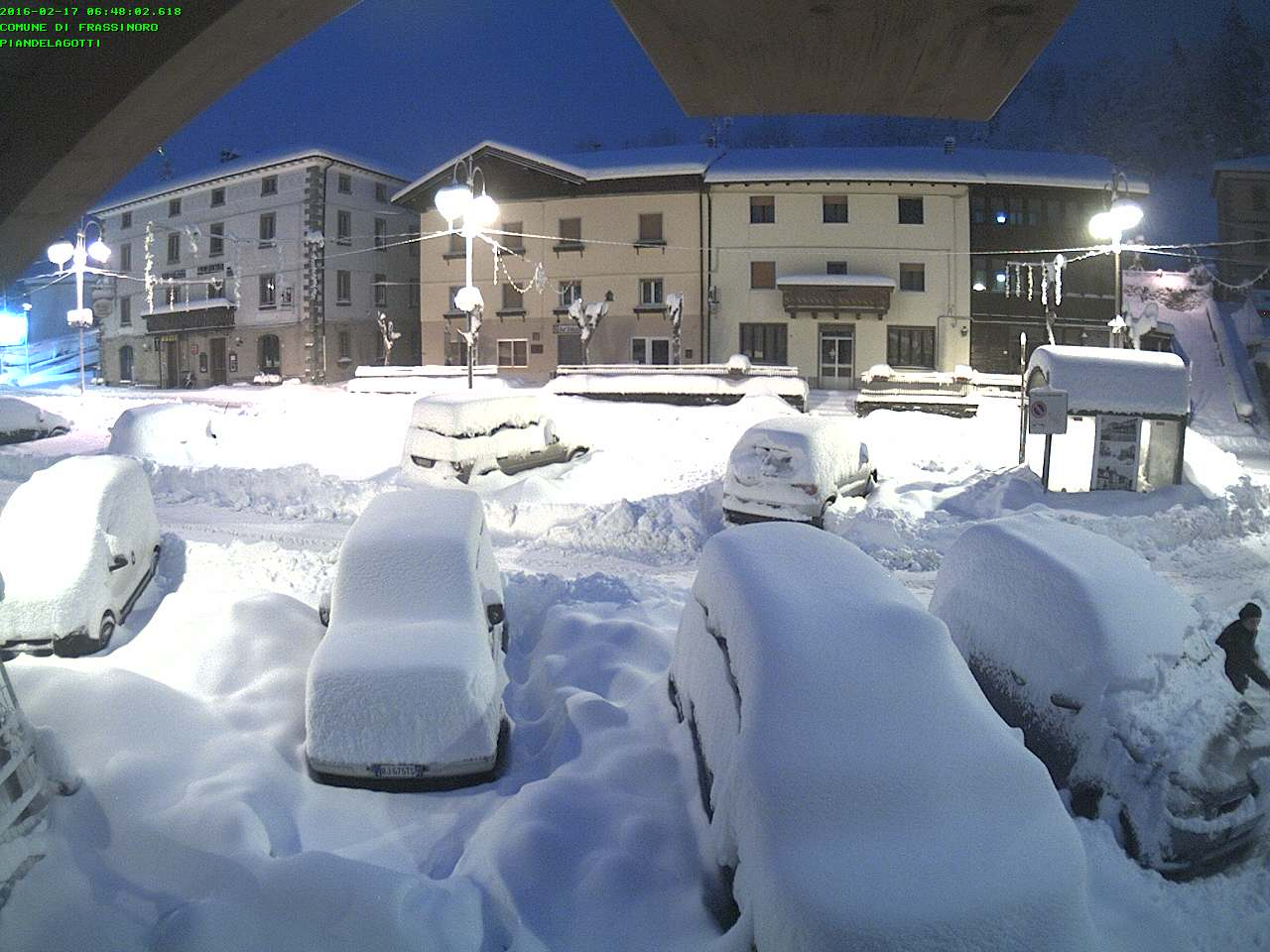 Meteo, neve abbondante sull'Appennino settentrionale