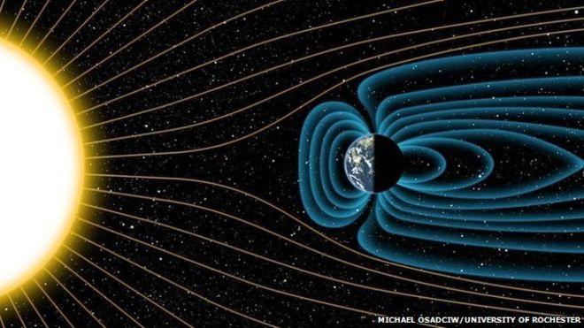 Campo magnetico, individuato il fenomeno del 'rovesciamento'