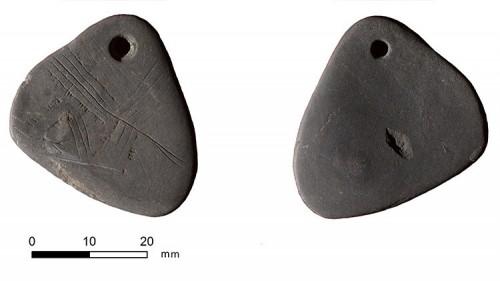 Ciondolo di 11.000 anni fa rinvenuto in Gran Bretagna