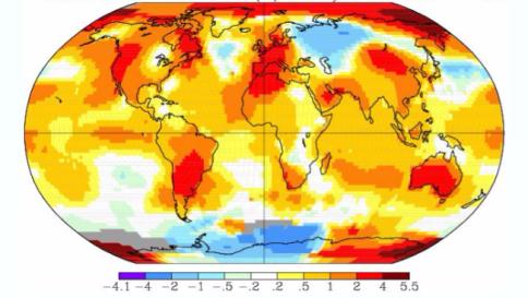 Clima, per la NASA Gennaio 2016 il più caldo di sempre