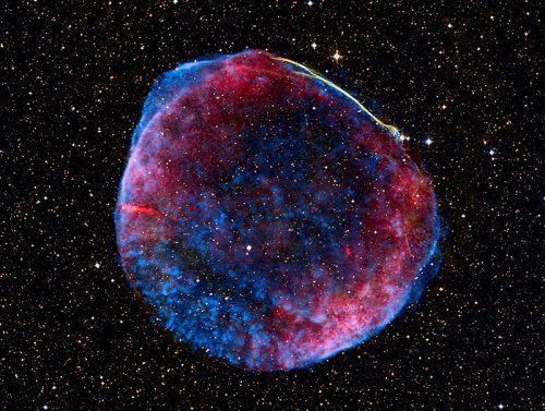 Spazio: la supernova che illuminò il cielo nel Medioevo e preoccupò il mondo
