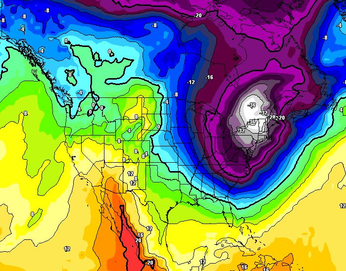 Stati Uniti, in arrivo ondata di gelo estremo