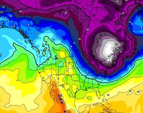 Stati Uniti, in arrivo intensa ondata di gelo