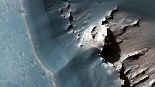 Marte, ecco la foto del misterioso labirinto della notte