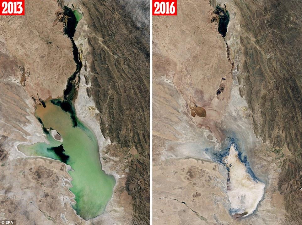 Cambiamento climatico, scompare un lago in Bolivia