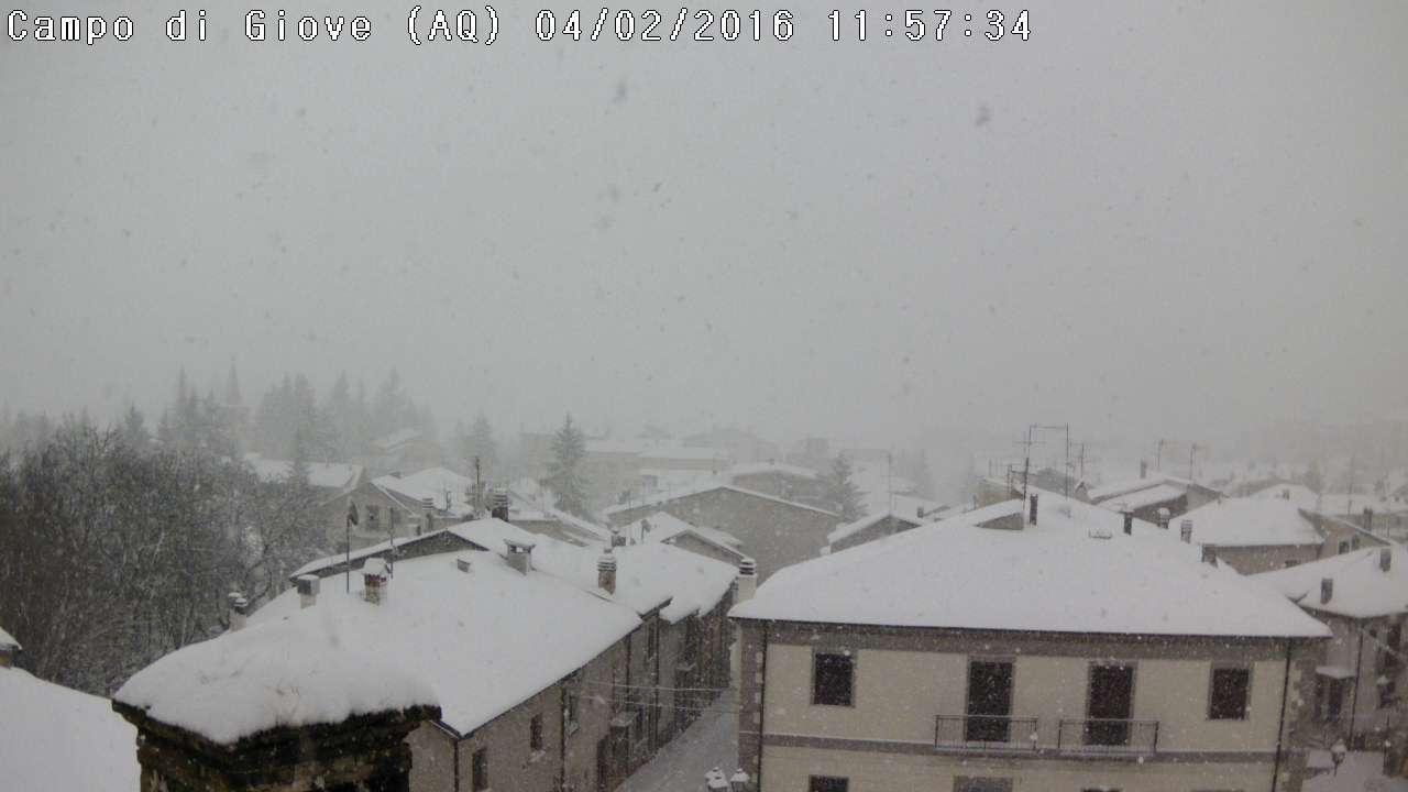 Maltempo Italia, pioggia, freddo e neve al Centro Sud