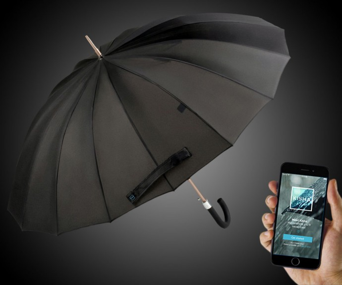 Tecnologia, arriva l'ombrello smart che prevede la pioggia