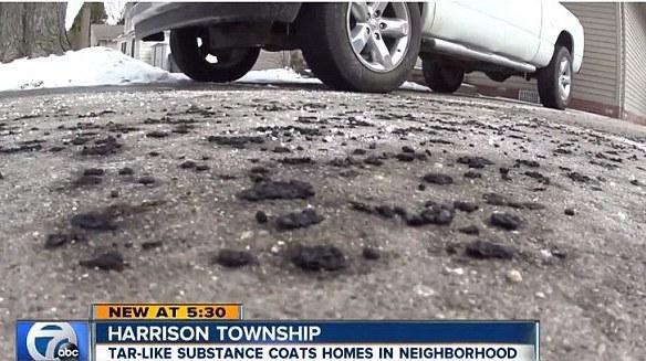 Pioggia nera negli Stati Uniti, è mistero in Michigan