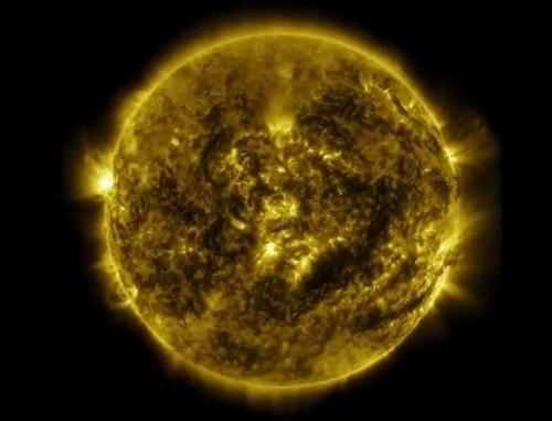 NASA, rilasciato video in timelapse dell'ultima tempesta solare