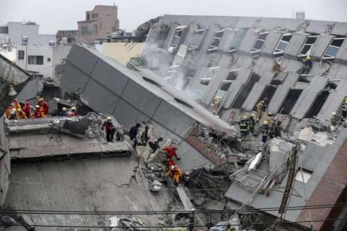 Terremoto Taiwan 6 Febbraio, bilancio pesante