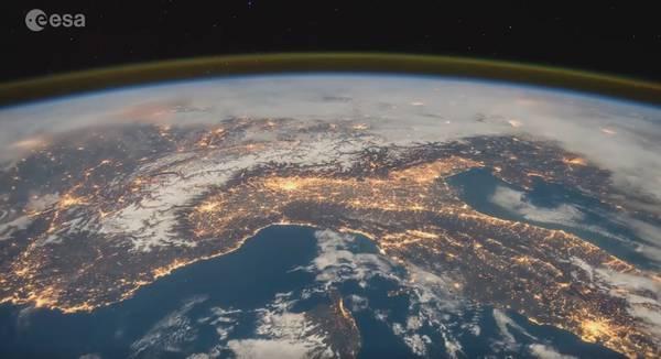 Italia presa dall'alto: il video dell'Esa che spopola sul web