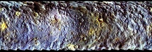 Cerere, trovata acqua sulla superficie del pianeta nano