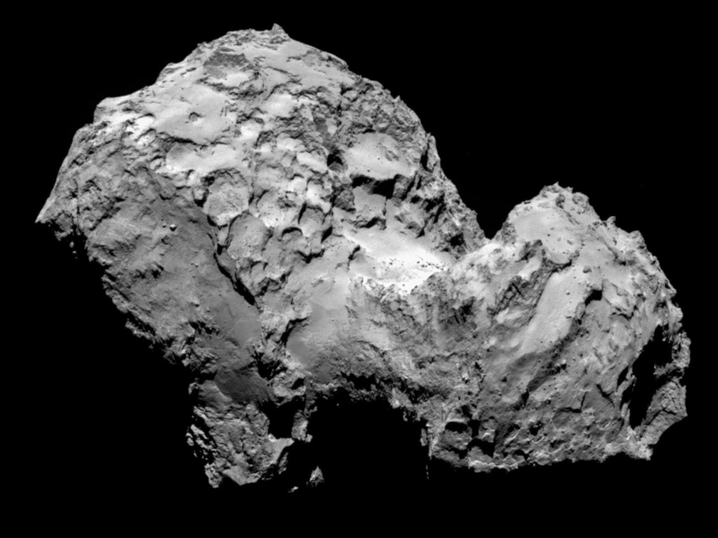 Cometa 67P/Churyumov-Gerasimenko è antica quanto il Sistema Solare