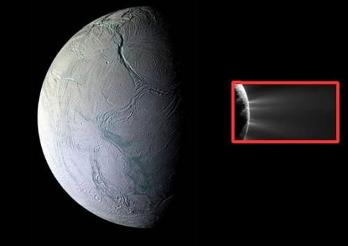 Encelado, scoperta la natura dei geyser della luna di Saturno
