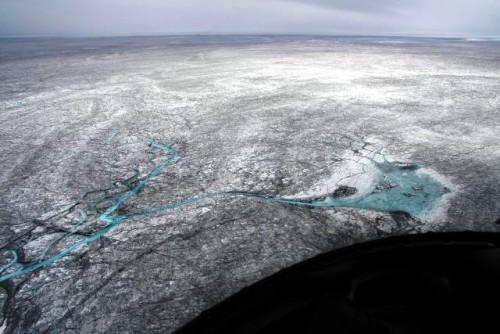 Ghiaccio groenlandese, cresce l'accumulo di fuliggine in superficie