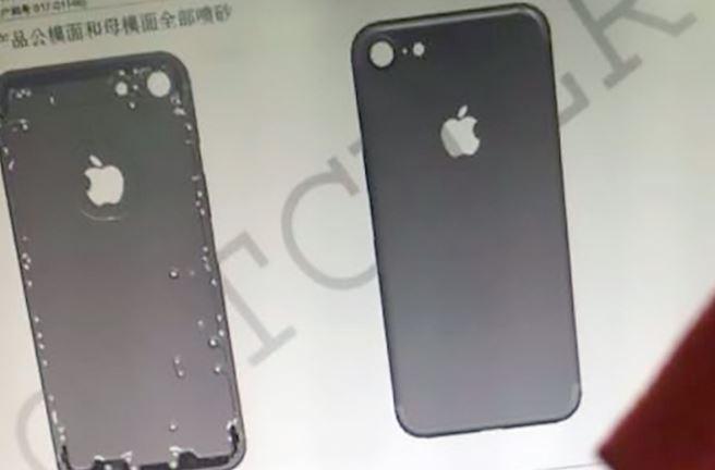 iPhone 7 news e rumors marzo 2016: nuove immagini della scocca posteriore