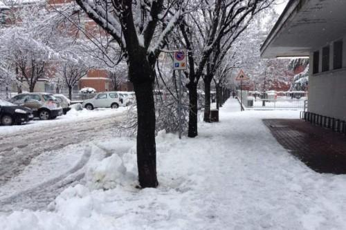 Neve al Nord anche in pianura martedì 8 marzo