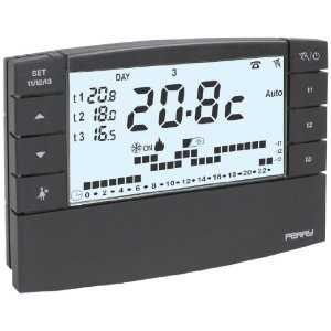 Sviluppato termostato intelligente ecco come funziona for Termostato perry manuale