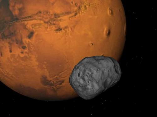 Marte: i segreti della misteriosa luna Fobos