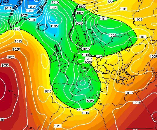 Tendenza meteo: dopo il caldo tornano freddo e maltempo