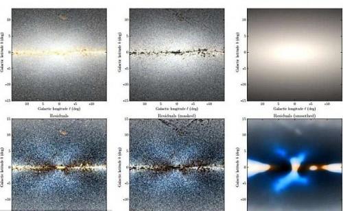 Via Lattea, osservato misterioso rigonfiamento galattico
