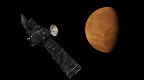 Missione ExoMars: la navicella spaziale invia le prime foto dallo spazio