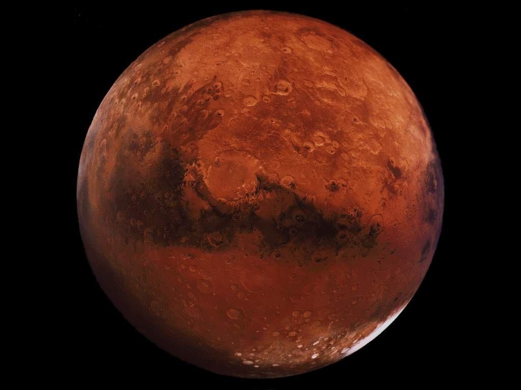 Marte, l'impatto di comete e asteroidi ha modificato il Pianeta Rosso