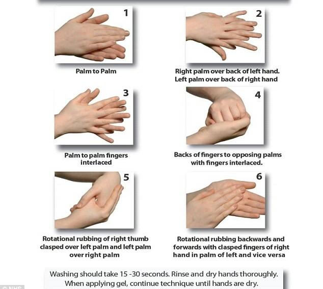 Lavarsi le mani, il metodo per eliminare i batteri secondo gli esperti