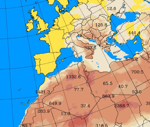 Sabbia sahariana sull'Italia, nuovo carico di polvere in arrivo dal deserto