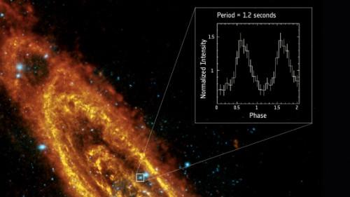 Stella di neutroni nella galassia di Andromeda: l'incredibile foto