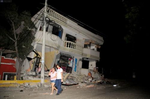 Terremoto Ecuador 16 Aprile: scossa di magnitudo 7.8, oltre 40 le vittime