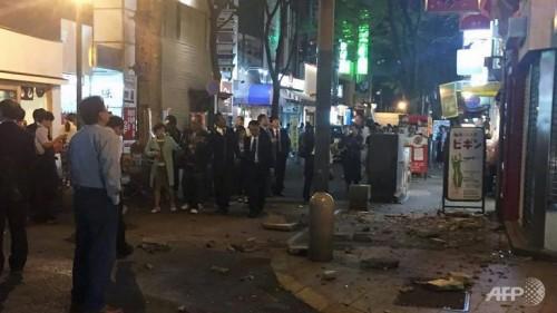 Terremoto Giappone: forte scossa di M 6.4 Richter, morti e feriti