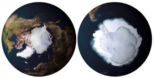 Clima: si sciolgono i ghiacci dell'Artide, avanzano quelli dell'Antartide