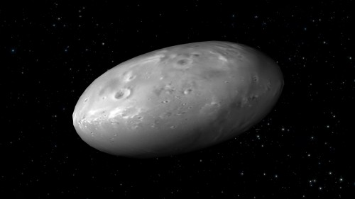 Plutone: i primi dati di Idra, la luna di ghiaccio d'acqua