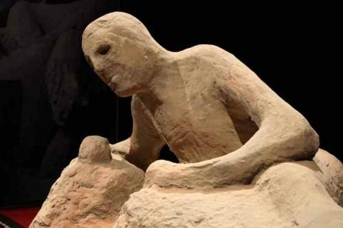 Pompei: le incredibili rivelazioni sui calchi in gesso