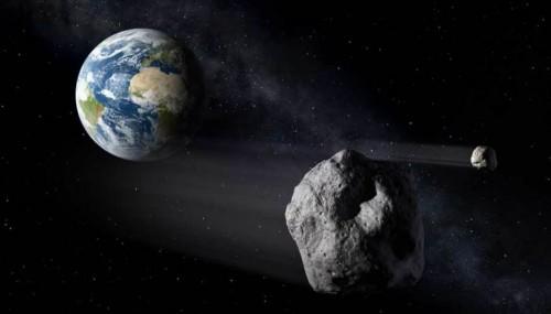 Asteroide 2016 LT1: poche ore all'avvicinamento alla Terra
