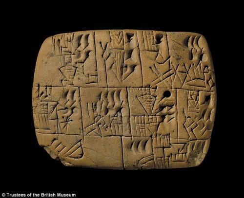 Archeologia: scoperta prima busta paga con pagamento in birra