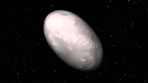 Notte: il satellite di Plutone composto da ghiaccio limpido