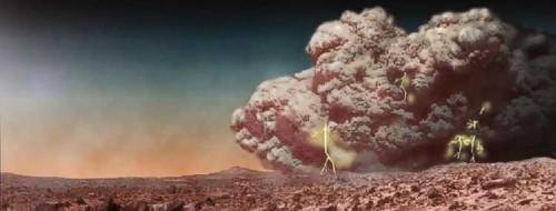 Marte, le mostruose tempeste di polvere analizzate dalla Nasa